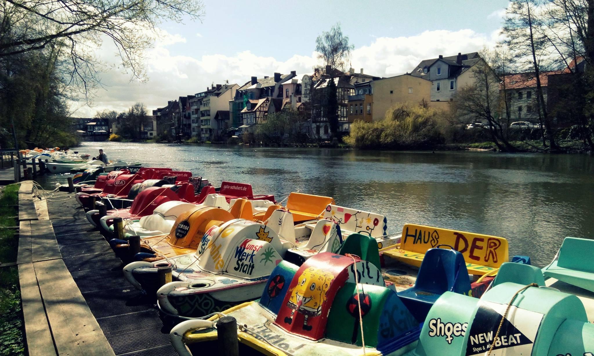 tretboot fahren berlin
